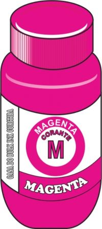 TINTA CORANTE  BROTHER  MAGENTA (VERMELHA) SENSIENT 100,250,500,1000ML