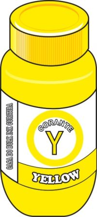 TINTA CORANTE  BROTHER  YELLOW (AMARELA) SENSIENT 100,250,500,1000ML