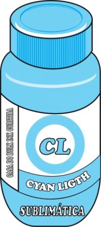 TINTA SUBLIMÁTICA CYAN LIGHT (AZUL CLARO,CIANO LIGHT)100,250,500,1000ML