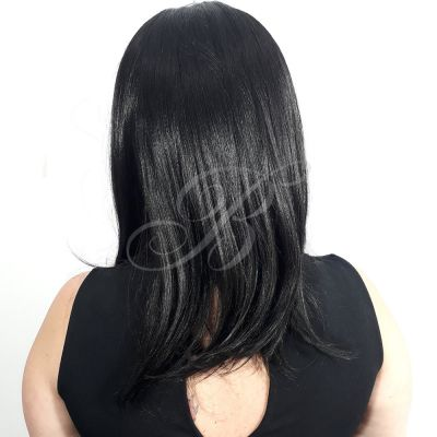 Peruca Lace Front Nelly cor 1B - Fibra Japonesa Equal - BellaHair IV