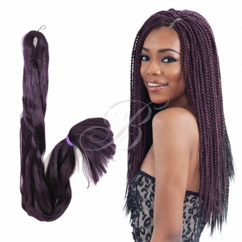 Kanekalon Jumbo Rainhas Braid - Cor 99S (60 cm) - Havana Braid Sleek