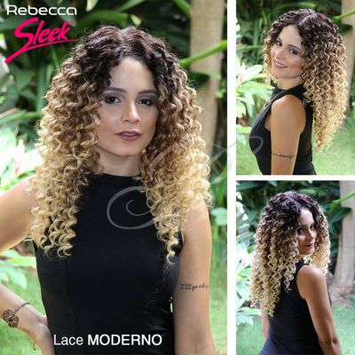 LACE WIG Moderno cor TDT4/30D/86D - Rebecca True Me Sleek