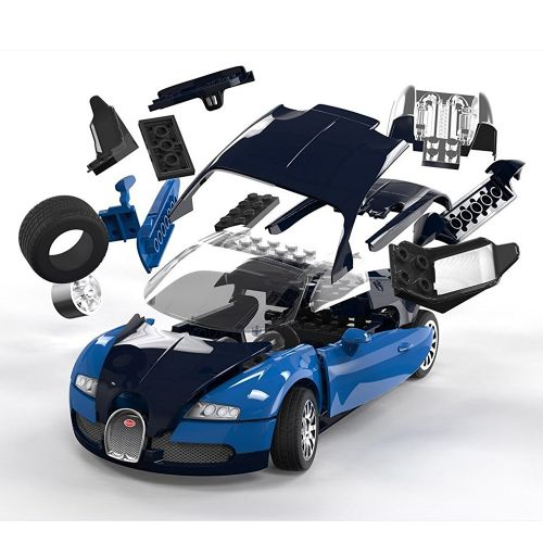 Blocos de Montar Bugatti Veyron Quick Build - Airfix