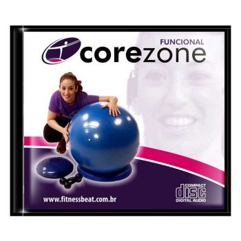 CD - Corezone - Fitball/Peso/Disc O Sit
