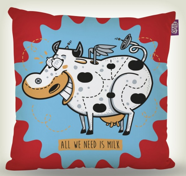 Almofada all you need is milk!  - foto principal 1