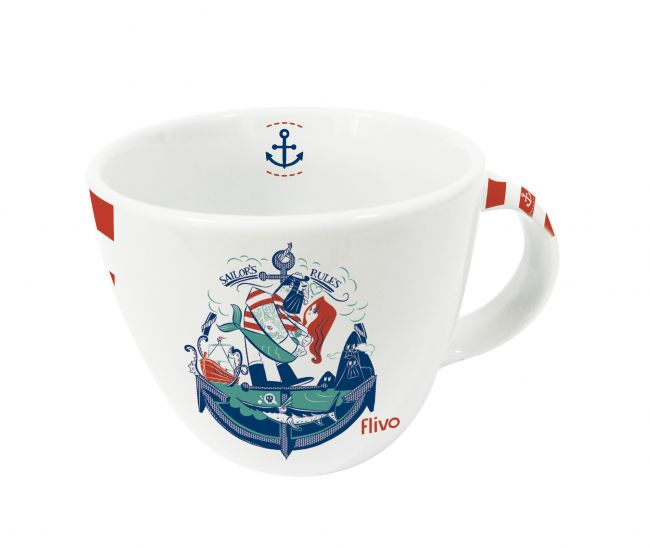 Caneca balaio - sailor's rules