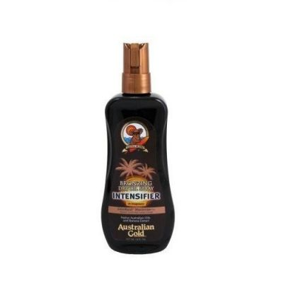Australian Acelerador De Bronzeado Gold Bronzing Dry Oil Spray Intensifier 237ml