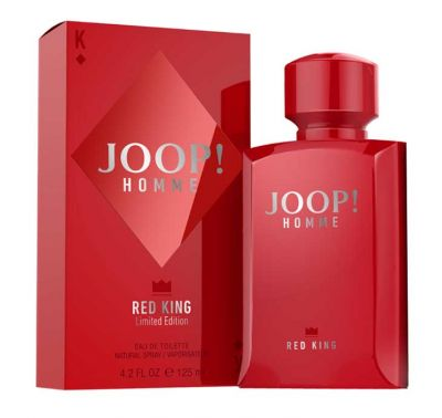 Joop Perfume Masculino Red King Limited Edition Homme  Eau de Toilette - 125ml