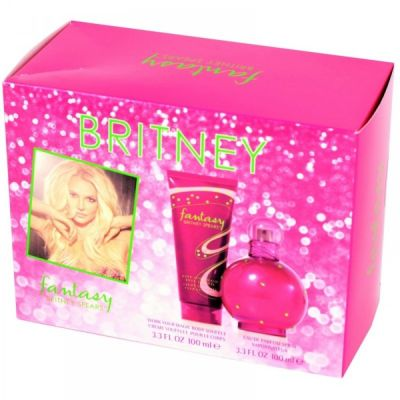Britney Spears Fantasy Kit Perfume 100ml + Creme 100ml  - EDP