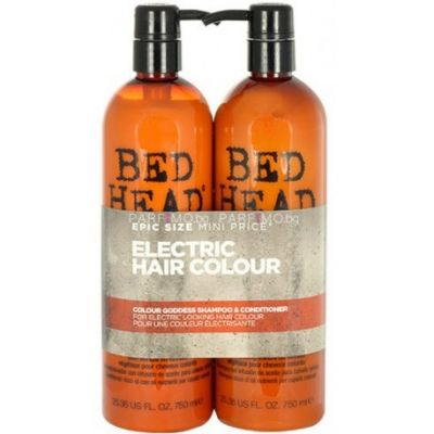 Bed Head Tigi Kit Style Shots Extreme Profissional Shampoo + Condicionador 750ml