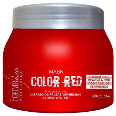 Forever Liss Máscara Tonalizante Color Red 250gr