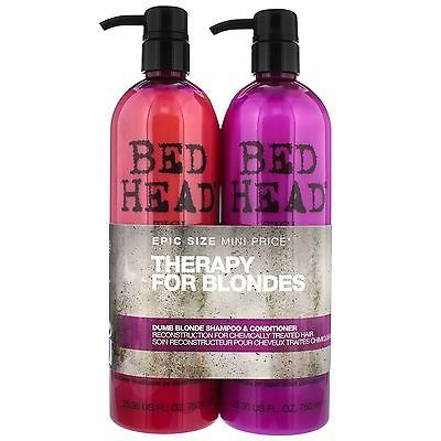 Bed Head Tigi Dumb Blonde Kit Shampoo e Condicionador Kit 2 x 750ml