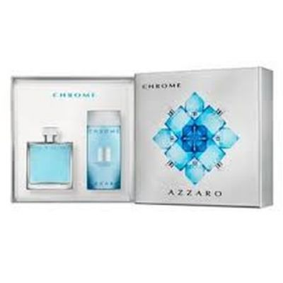 Azzaro Chrome Perfume Masculino Kit Eau de Toilette 100ml + Gel de Banho 200ml