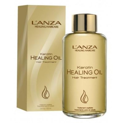 Lanza Keratin Healing Oil Hair Treatment - Óleo de Tratamento 100ml  - foto 1