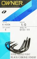 Anzol Owner K-Hook Wide Gap