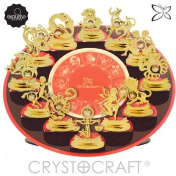 Display CRYSTOCRAFT Com os 12 Signos do Zodíaco  - foto 4