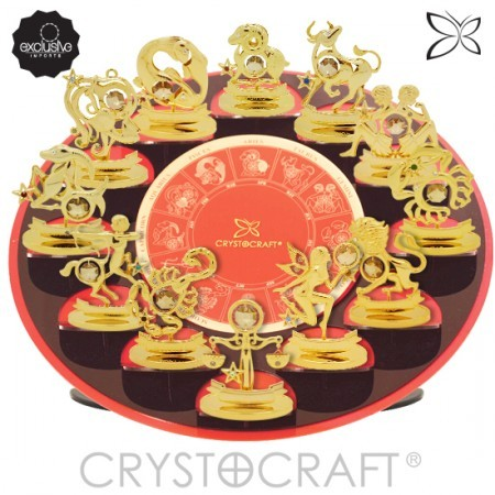 Display CRYSTOCRAFT Com os 12 Signos do Zodíaco  - foto principal 1