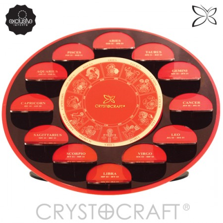 Display CRYSTOCRAFT Com os 12 Signos do Zodíaco  - foto principal 2
