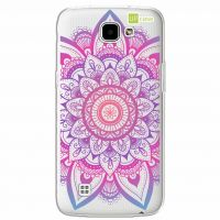 Capa Capinhas para Celular LG K4 2016 Mandala Multicor - UP Case