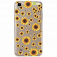 Capa Capinhas para Celular Lg X Power Girasois - UP Case