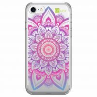 Capa Capinhas para Celular IPhone 7 Mandala Multicor - UP Case