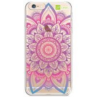 Capa Capinhas para Celular Iphone 6/6s Mandala Multicor - UP Case