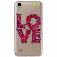 Capa Capinhas para Celular Lg X Power LOVE - UP Case - Exclusividade
