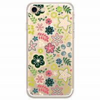 Capa Capinhas para Celular Iphone 7 Floral Green - Exclusividade - UP Case
