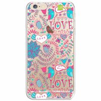 Capa Capinhas para Celular Iphone 6/6s Love Flores - UP Case - Exclusividade