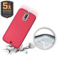 Capa Capinha para Celular Moto G4 Plus Rosa Pink Rugged Anti Impacto - UP Case
