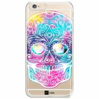 Capa Capinhas para Iphone 6/6s Caveira Multicor - UP Case - Exclusividade
