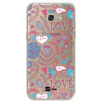 Capa para Galaxy A7 2017 A720 Love Flores - UP Case