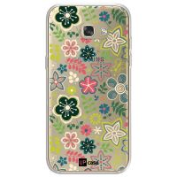 Capa para Galaxy A7 2017 A720 Floral Green - UP Case