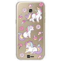 Capa para Galaxy A7 2017 A720 Unicornios Arco Iris - UP Case