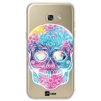 Capa para Galaxy A7 2017 A720 Caveira Multicor - UP Case