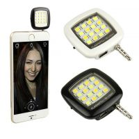 Mini Flash Portátil para Celular - 16 Leds