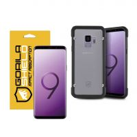 KIT CAPA GRIP SHIELD E PELÍCULA NANO GEL DUPLA PARA GALAXY S9 - GORILA SHIELD
