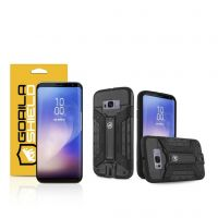 Kit Capa Guardian  e Película de Nano Gel dupla para Samsung Galaxy S8 Plus - Gorila Shield