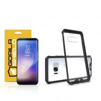 Kit Capa Ultra Slim Air Preta e Película Nano Gel dupla para Samsung Galaxy S8  – Gorila Shield