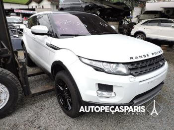 Sucata Range Rover Evoque Pure 2.0 turbo 2013