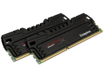 MEMORIA KINGSTON HYPER X BEAST 8GB (KIT 2 X 4GB) 2400MHZ DDR3 CL11 DIMM XMP KHX24C11T3K2/8X