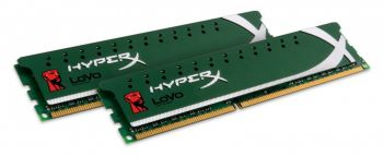 MEMORIA KINGSTON HYPER X LOVO 8GB (2X4GB) DDR3 1600MHZ CL9 240PIN DIMM KHX1600C9D3LK2/8GX