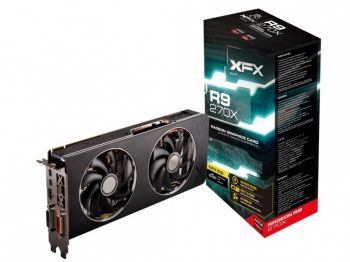 PLACA DE VIDEO XFX R9 270X 2GB DDR5 DD RADEON BOOST 1100M PCI-E  R9-270X-CDBC