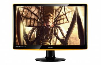 MONITOR BENQ GAMER 21,5 LED DVI HDMI AUDIO PRETO E AMARELO RL2240HE