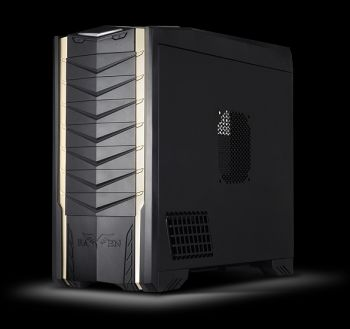 GABINETE SILVERSTONE RV03 RAVEN SERIES PRETO FULL-TOWER C149-SST-RV03B-W