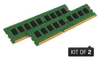 MEMORIA KINGSTON 16GB KIT 2X8GB 1600MHZ DDR3 CL11 KVR16LN11K2/16