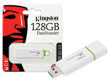 PEN DRIVE KINGSTON DATATRAVELER USB 3.0 128GB GENERATION 4 VERDE DTIG4/128GB