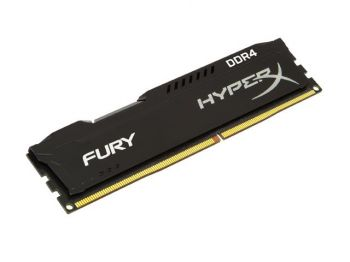 MEMORIA HYPERX DDR4 FURY 4GB 2133MHZ CL14 BLACK HX421C14FB/4