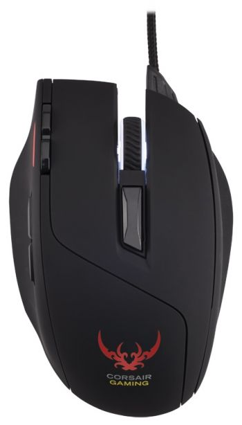 MOUSE CORSAIR ÓPTICO GAMING SABRE OPTICAL RGB M65 PRETO 8200 DPI CH-9000090-NA
