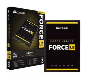 SSD CORSAIR FORCE LE 480GB 2.5'' SATA III 6GB/S BOX CSSD-F480GBLEB